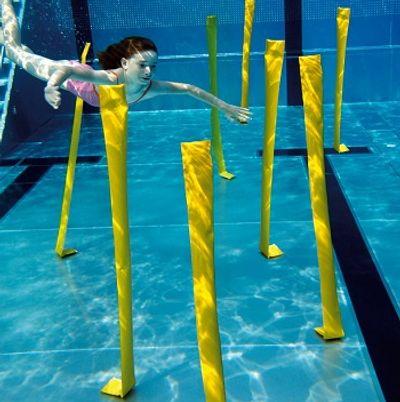 Slalom sous-marin